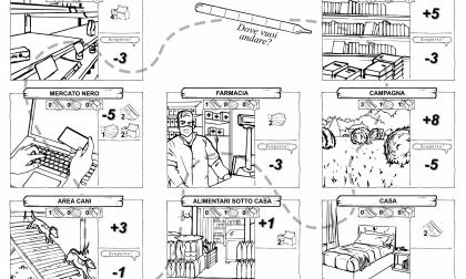 """""""Tranqui"""", gioco veronese a tema quarantena da stampare, colorare e sperimentare"""