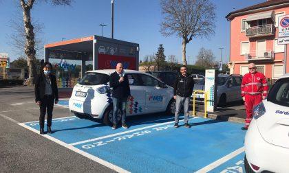 Comune di Peschiera, AGS e Garda Uno donano due auto elettriche alla Croce Rossa