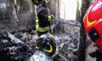 Incendio villetta a Sona, completamente distrutto il primo piano VIDEO e FOTO