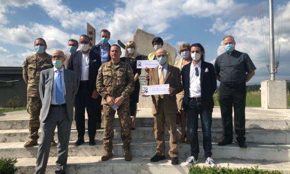 La solidarietà del 3° Stormo a favore dell'Ospedale Magalini e della casa di riposo