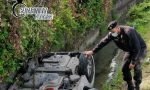 Incidente a Zevio: auto nel canale, la donna è rimasta a testa in giù immersa nell'acqua