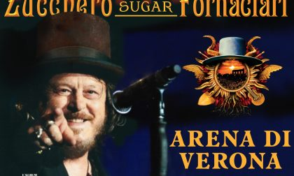 Concerto Zucchero all'Arena: rinviate nuovamente le 14 date