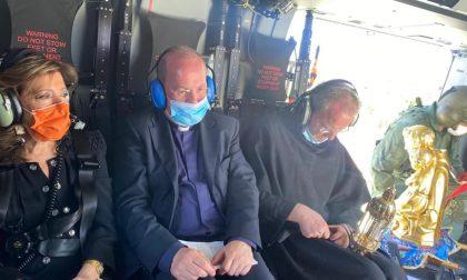 Padova celebra Sant'Antonio: la benedizione in elicottero sopra la città con la presidente del Senato Elisabetta Casellati