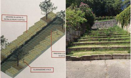 """A breve partiranno i lavori sulla scalinata di Via 4 Novembre, Gardoni: """"Riqualificazioni e valorizzazioni per il paese"""""""