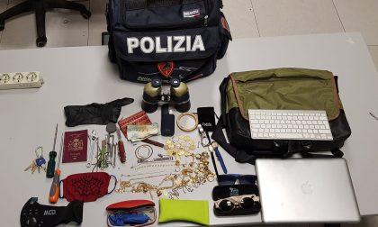 Topo d'appartamento beccato dalla Polizia con la refurtiva, nei guai un 33enne