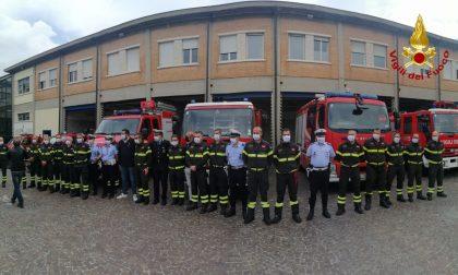 Donate 1400 mascherine a Polizia Locale e Vigili del Fuoco da un'azienda veronese FOTO E VIDEO