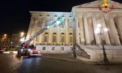 Maltempo Verona e provincia, oltre 50 interventi di soccorso: danni a Palazzo Barbieri