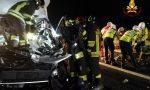 Tamponamento tra furgone e mezzo pesante sull'A22, grave un 22enne VIDEO