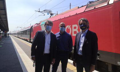 Arrivato a Verona il primo treno da Monaco di Baviera dopo il lockdown VIDEO