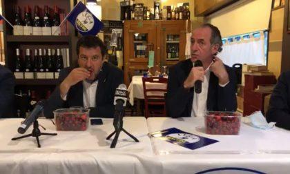 """Bufera su Salvini: mangia ciliegie mentre Zaia parla dei neonati morti, Deputati PD: """"Senza rispetto"""""""