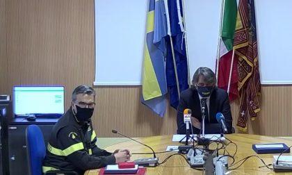 Sboarina ha salutato il comandante dei Vigili del Fuoco, Micele prima del suo trasferimento