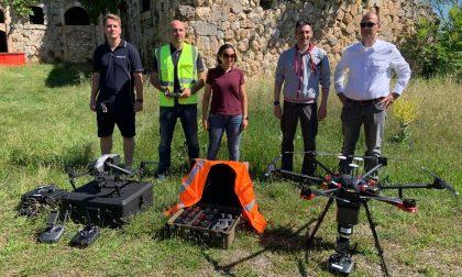 Forte Santa Caterina, droni in volo per le mappature 3D in vista del recupero – VIDEO