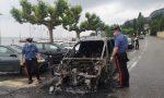 Auto prende fuoco lungo la Gardesana, conducente di San Bonifacio salvato dai Carabinieri