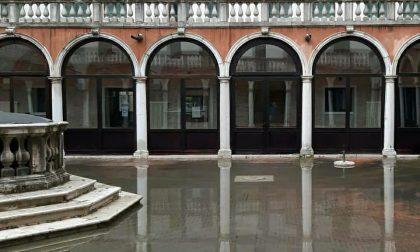 Acqua alta: raggiunti 116 cm a Punta della Salute e previsti 105 cm nella serata di oggi