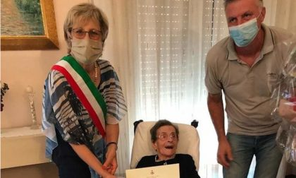 Cesira Dal Santo ha spento 100 candeline attorniata dall'amore della famiglia