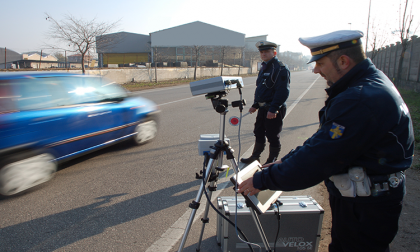Polizia Locale: i controlli della velocità fino a sabato 29 agosto