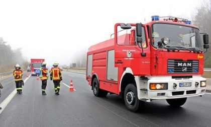Maxi incidente tra mezzi pesanti sulla A22: due morti e un ferito grave