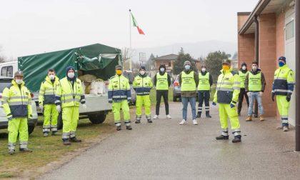 Dall'inizio dell'emergenza gli Alpini veronesi hanno svolto 4.532 giorni di lavoro per la collettività