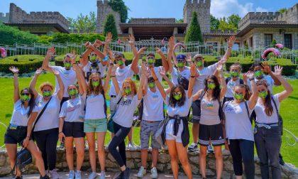 L'iniziativa di Melissa Satta permetterà a 116 ragazzi di diverse associazioni di andare a Gardaland