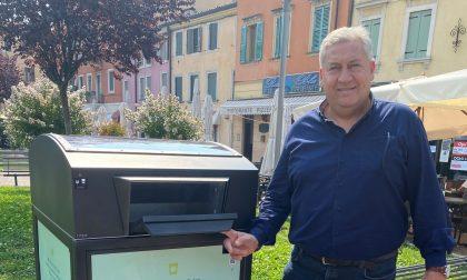 Cestini per rifiuti ad energia solare: Amia sperimenta i dispositivi di nuova generazione