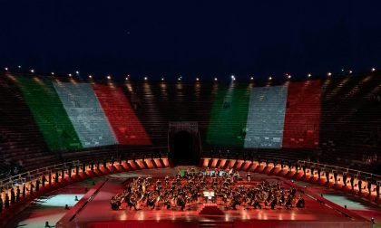 """L'Arena di Verona scelta per sperimentare gli spettacoli """"Covid free"""": si punta alla capienza massima di 13mila spettatori"""