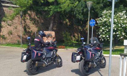 Sfila dal palo della segnaletica stradale una bicicletta con catena e lucchetto, arrestato un 28enne