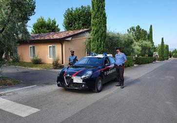 Rapina impropria al campeggio e botte al vigilante: arrestato turista tedesco 19enne