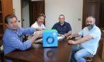 DRTech dona alla chiesa di Bonavigo gli strumenti per l'igienizzazione