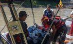 Si getta nelle acque del canale artificiale Giuliari, ricerche in corso FOTO E VIDEO