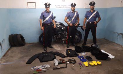 Svariati tentati furti tra Garda-Monte Baldo a bordo della moto, arrestato 55enne