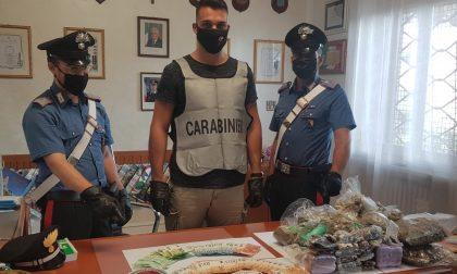 Rinvenuti a Garda oltre 5 chili di droga nella taverna indipendente di un'abitazione
