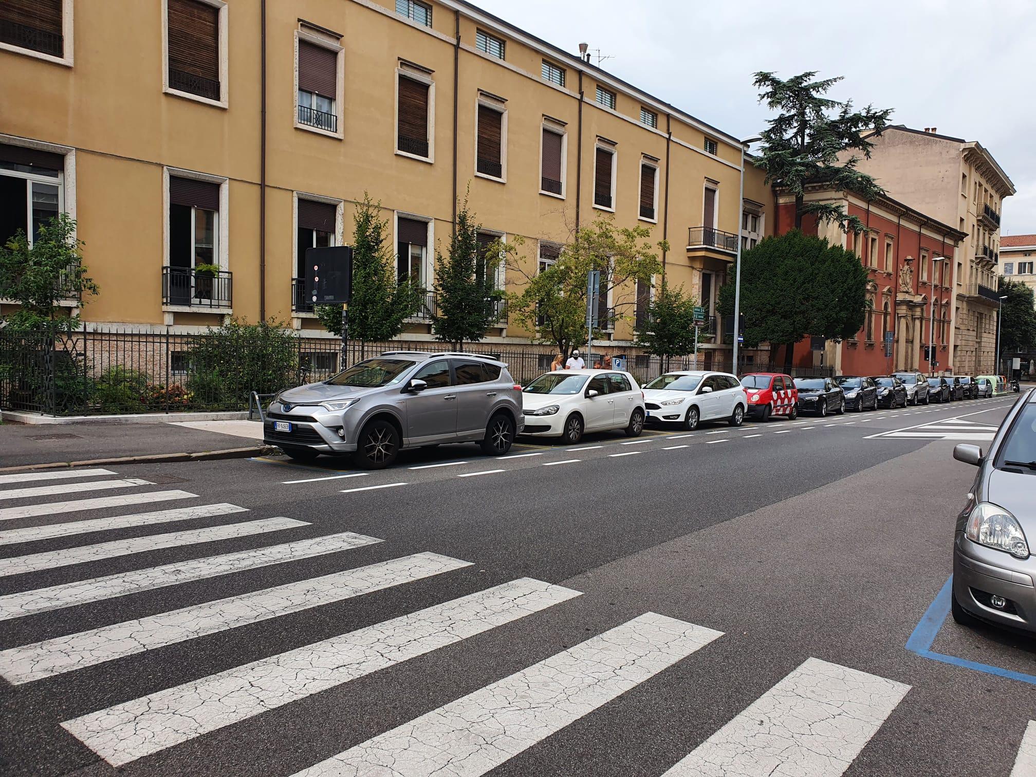 """Corsie ciclabili a Verona, ieri """"inaugurata"""" l'ultima al Chievo"""