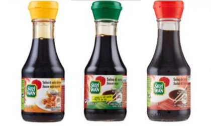 Possibile presenza di vetro nella salsa di soia Suzy Wan