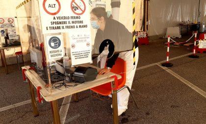 """Nuova postazione """"Drive-in"""" per i tamponi naso-faringei alla Caserma Pianell – Gallery"""