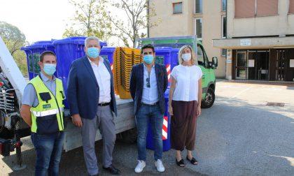 Nelle scuole di San Michele Extra arrivano i bidoni per umido e carta