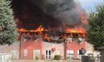 In fiamme il tetto della casa di riposo di Albaredo d'Adige: ospiti evacuati, due feriti lievi FOTO E VIDEO