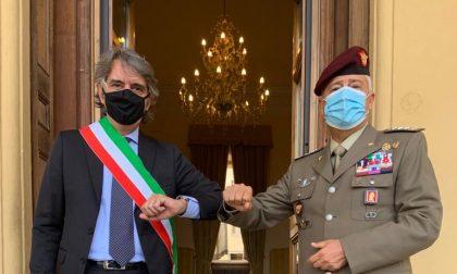 Il sindaco ha incontrato il nuovo comandante del Comfoter di Supporto, Massimo Scala