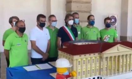 """Palazzo Barbieri in formato Lego, Sboarina: """"Da esposizione"""""""
