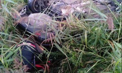 Tragedia sfiorata a Vigasio: finisce con l'auto nel canale di scolo, salvato dai Carabinieri