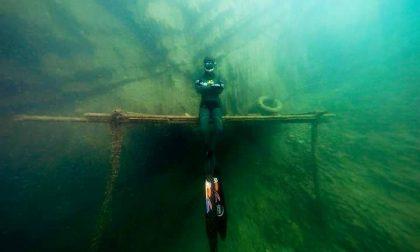 Due record mondiali in 24 ore: Pietro Antolini sfida le profonditàdel Garda e trionfa VIDEO E FOTO
