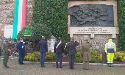 Per il Centenario dell'A.N.A. gli Alpini hanno ricordato i caduti in due distinte cerimonie