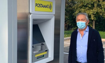 Poste Italiane ha installato a Sandrà uno sportello ATM Postamat