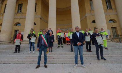 Premiati privati e volontari che hanno aiutato Verona durante il lockdown