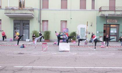 La danza a Bovolone non si ferma: il parcheggio si trasforma in palestra – GALLERY