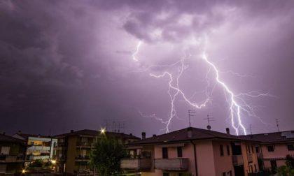 Maltempo: stato di attenzione per temporali e forte vento