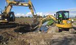 Iniziati i lavori di ricostruzione e ampliamento del ponte sullo scolo Carpeneolo