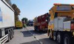 Traffico in tilt sulla 434: tamponamento tra due mezzi pesanti a San Pietro di Legnago