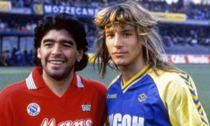 """E' morto Maradona, esordì al Bentegodi contro il Verona: """"Riposa in pace, infinito Campione"""""""