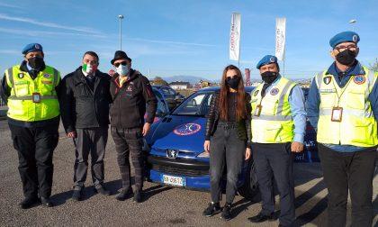 Solidarietà verso ANAS: la famiglia Santacà di Vigasio ha donato un'auto ai volontari