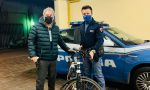 Bicicletta rubata in centro a Verona in pieno giorno, la Polizia la ritrova